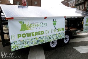 Consolidated Solar provides solar energy for Clean Air Council events.