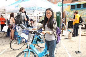 Festival goers can take Indego to Greenfest for free.