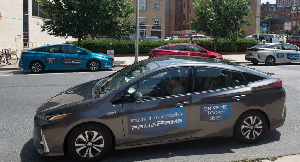 Test drive an all new Toyota Hybrid at Greenfest.